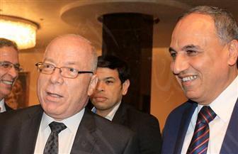 وصول وزير الثقافة لحفل جوائز الأهرام للدراما   صور