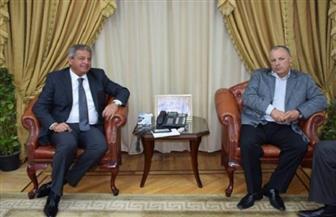 """""""أبوريدة"""" يناقش مع وزير الرياضة دعوة شخصيات عامة لحضور مباراة الكونغو"""