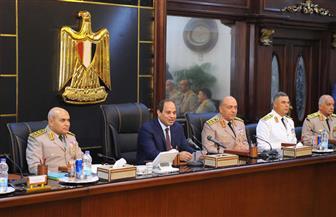 """نص كلمة الرئيس السيسي في ذكرى نصر أكتوبر.. وتفاصيل اجتماع """"الأعلى للقوات المسلحة"""""""