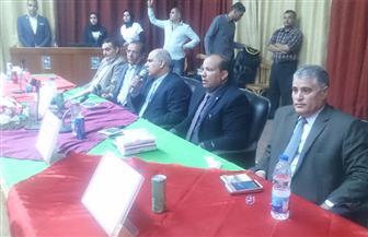 رئيس جامعة كفر الشيخ يرعى حفل استقبال الطلاب المستجدين بكليتي الطب البيطري والتربية صور