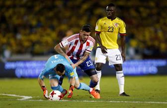 كولومبيا تصدم جماهيرها بالخسارة من باراجواي على ملعبها في تصفيات مونديال 2018