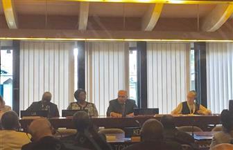 """قبل يومين من الانتخابات..""""شكري"""" يجتمع بالمندوبين الدائمين الأفارقة في """"اليونسكو"""" لتأييد """"خطاب"""""""