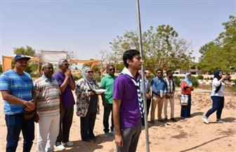 """150 طالبًا وطالبة يختتمون فعاليات """"شعارنا تجميل جامعتنا"""" بأسوان"""