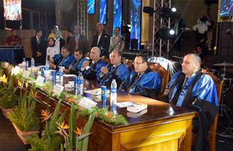"""""""هندسة الإسكندرية"""" تحتفل بتخريج الدفعة 71 بحضور المحافظ"""