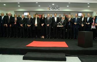 وزير التعليم العالي يشهد حفل تسليم وتسلم رئاسة الجامعة الألمانية| صور