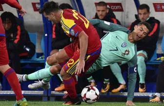 البرتغال تفوز على أندورا بهدفين نظيفين وتواصل مطاردة سويسرا في تصفيات كأس العالم 2018