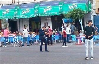 محافظ الإسكندرية: إغلاق 39 مقهى وتشميعها بسبب مخالفة الضوابط الصحية