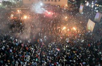سيناء تحتفل بفوز المنتخب الوطني بشكل مختلف