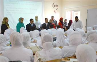 رئيس جامعة بورسعيد يشيد بانتظام العملية التعليمية داخل كلية التمريض