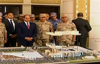 الرئيس السيسي يفتتح أضخم مركز للمؤتمرات على هامش الاحتفال بالذكرى 44 لنصر أكتوبر