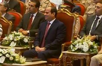 الرئيس السيسي يشهد فيلمًا تسجيليًا عن مركز المؤتمرات والمعارض الدولية الجديد