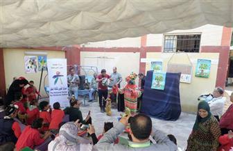 القوافل الثقافية تنطلق بمدرسة الوحدة العربية للتربية الفكرية | صور