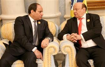 الرئيس اليمني مهنئًا السيسي: التأهل لكأس العالم إنجاز يضاف لسجل مصر الملئ بالانتصارات