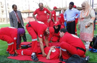 الهلال الأحمر يُواجه الكوارث والحد من المخاطر بـ9 دورات تدريبية