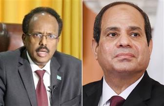 الرئيس السيسي يتلقى اتصالًا من فرماجو ويؤكد التمسك بوحدة أراضي الصومال وسيادته