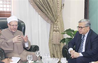 مفتي الجمهورية يستقبل السفير الإندونيسي بالقاهرة لبحث التعاون في مكافحة الإرهاب
