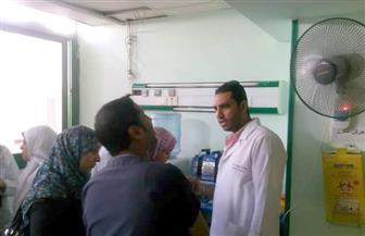 """جولة """"لتمريض"""" وزارة الصحة بالسويس استعدادًا لتطبيق مشروع قانون التأمين الصحي الشامل"""