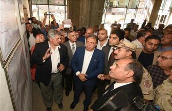 وزير الصحة يتفقد تطوير مبنى أيل للسقوط بمستشفى شرق الإسكندرية| صور