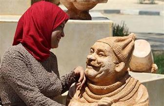 """كرنفال مصر الدولي يكرم نحاتة المنيا """"مي عبد الله"""" في شرم الشيخ"""