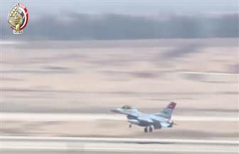 المتحدث العسكري ينشر فيديو للضربة الجوية على الحدود الغربية وتدمير 10 سيارات محملة بالأسلحة