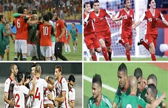 الحلم العربى يتحقق.. مصر والسعودية والمغرب وتونس فى مونديال روسيا 2018