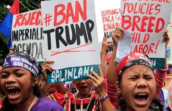 احتجاجات في الفلبين قبيل وصول ترامب