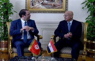رئيس الوزراء: نسعى لرفع مستوى التعاون بين مصر وتونس