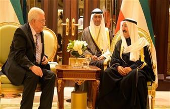 أمير الكويت يستقبل الرئيس الفلسطيني