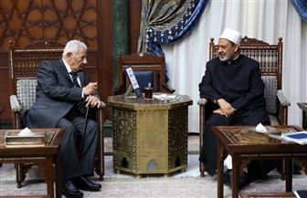 مكرم محمد أحمد: الأزهر هو المسئول عن الشأن الديني بصفته المرجعية الإسلامية المعتمدة | صور