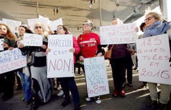 احتجاج على التحرش في أماكن العمل أمام مقر حفل جوائز الأوسكار في هوليوود