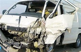 إصابة 7 مواطنين فى انقلاب سيارة بالبحيرة