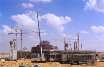 """""""الفتاح العليم"""".. أحدث صور لأضخم مساجد العالم بالعاصمة الإدارية الجديدة"""
