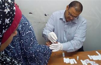"""إجراء تحليل فيروس """"سي"""" لـ370  مواطنًا بعزبة حوض 12 بالإسكندرية   صور"""