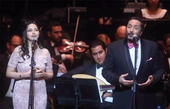 علي الحجار.. ملامح استثنائية في مهرجان الموسيقى العربية / صور