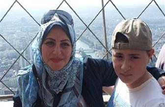 ميار الببلاوي تتعرض لحادث سير وتطلب الدعاء لابنها | صور