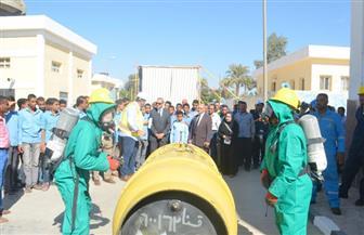 10 شركات مياه تشارك في مسابقة تنمية مهارات السلامة والصحة المهنية بقنا  | صور