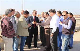 محافظ كفر الشيخ يعلن الانتهاء من تنفيذ كورنيش بحيرة البرلس