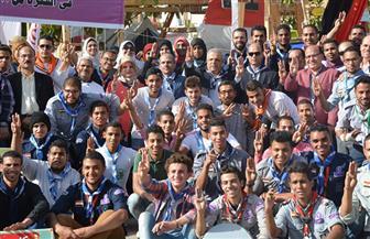 انطلاق المهرجان السنوي السابع لجوالة طلاب جامعة الفيوم | صور