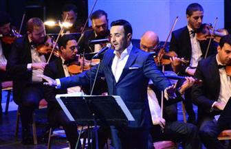 صابر الرباعي فور صعوده على المسرح: شرف لي أن أختتم مهرجان الموسيقى العربية