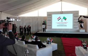 خلال تفقده المنطقة الصناعية بالعاشر.. رئيس زامبيا: سعيد بزيارة مصر وأتمنى الشراكة معها في مختلف المجالات | صور