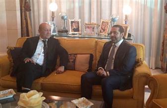 وزير الخارجية الفرنسي يجتمع مع الحريري في الرياض | صور