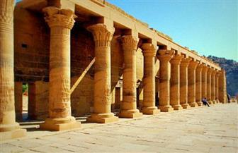 """اكتشاف بقايا معبد الإلهة """"إيزيس"""" بمنطقة تل أتريب ببنها"""