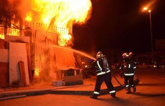 السيطرة على حريق بمخزن أخشاب دون خسائر بشرية بالشرقية