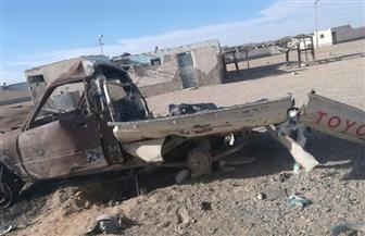 المتحدث العسكري: ضبط 3 أفراد مشتبه فى دعمهم العناصر التكفيرية وتدمير 9 أوكار وعربة دفع رباعى بوسط سيناء| صور