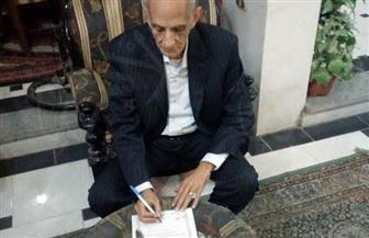 """عضو لجنة الدفاع والأمن القومي بمجلس النواب يوقع استمارة """"كلنا معاك"""" لدعم الرئيس"""