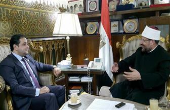 علاء عابد: وزير الأوقاف نجح فى تحرير المساجد من الإرهابيين والتكفيريين| صور