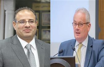 محافظ الإسكندرية يحضر حفل استقبال سفير إيطاليا الجديد