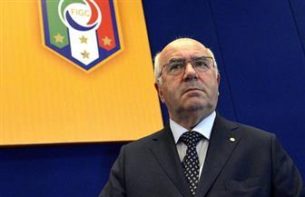 رئيس الاتحاد الإيطالي لكرة القدم يستقيل بعد فشل المنتخب في التأهل لكأس العالم