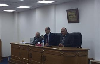 سامح شكري يزور المعهد الدبلوماسي ویجري حوارًا مفتوحًا مع شباب الدبلوماسیین