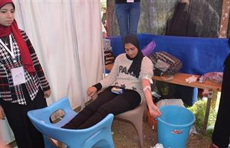 طلاب-من-أجل-مصر-ينظمون-حملة-تبرع-بالدم-لمستشفى-جامعة-الفيوم -صور